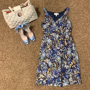 Marble shades dress